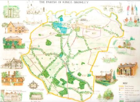 Pictorial Parish Map
